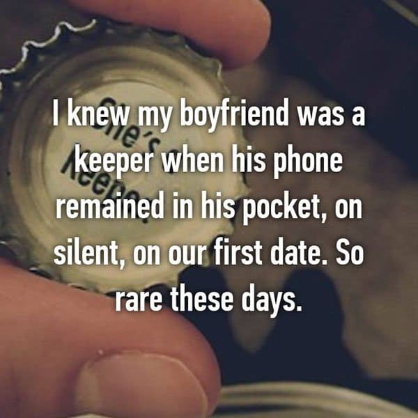 Partners Were Keepers phone remained in his pocket