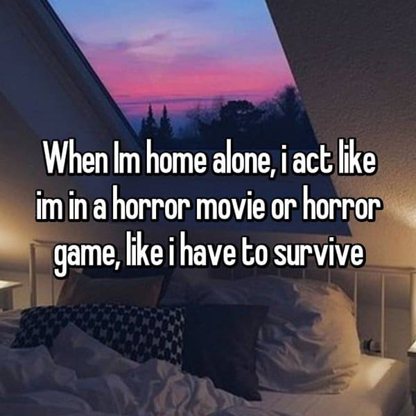 People Reveal Their Weirdest Habits horror movie