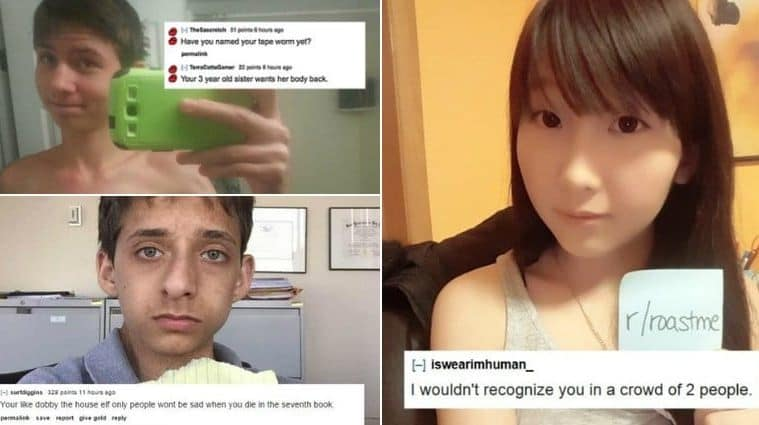 People Who Volunteered To Be Roasted In Mean And Hilarious Ways