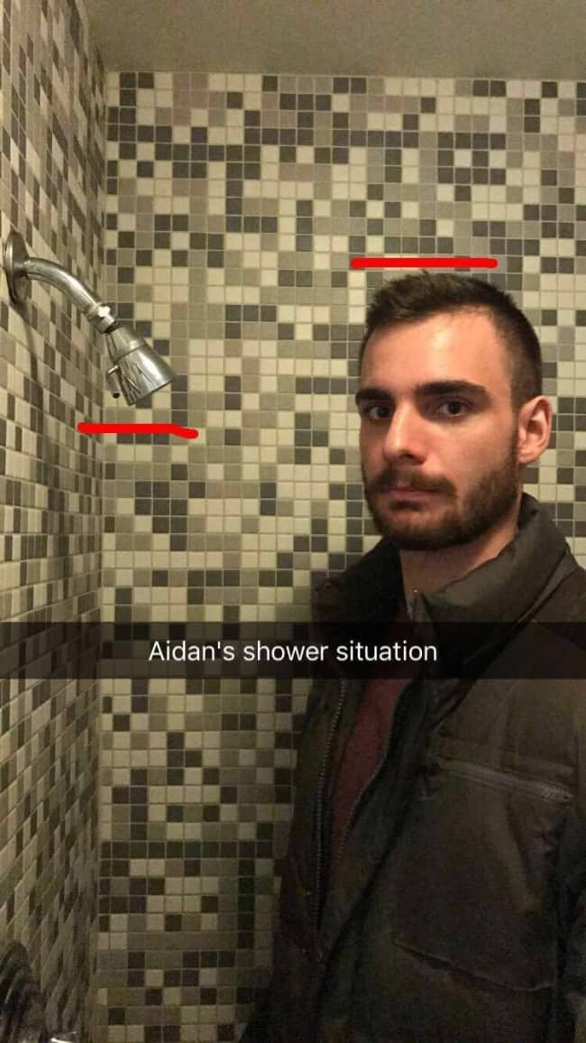 Photos Where Something Went Terribly Wrong low shower