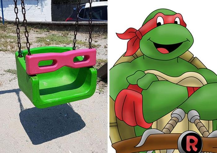 Pop Culture Icons In Disguise raphael teenage mutant ninja turtle
