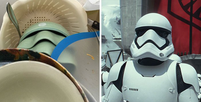 Pop Culture Icons In Disguise stormtrooper dishes