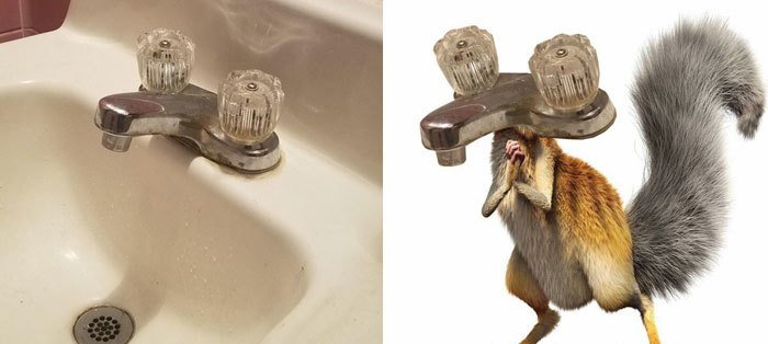 Pop Culture Icons In Disguise tap scrat ice age
