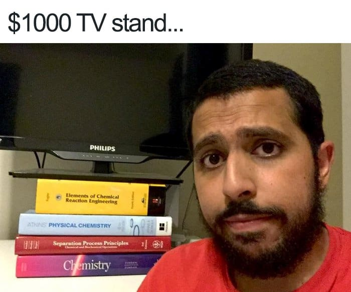 Posts About College 1000 dollar tv stand