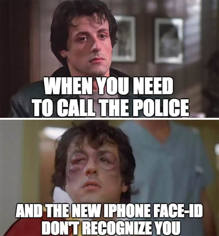 Reactions To The New iPhone X need to call the police