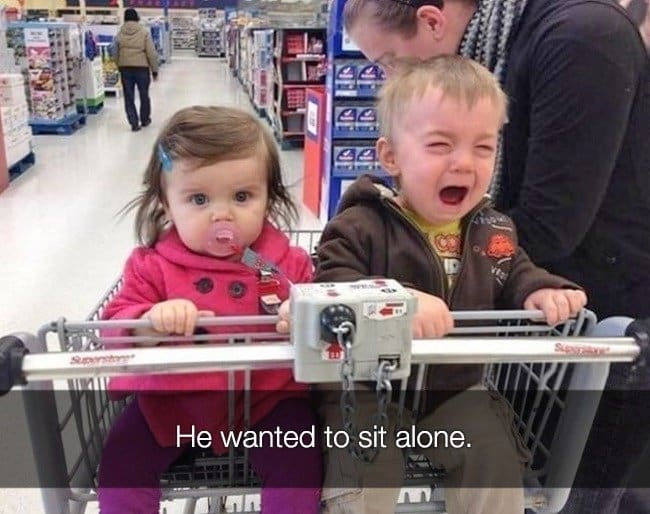 Reasons That Kids Had Major Meltdowns sit alone