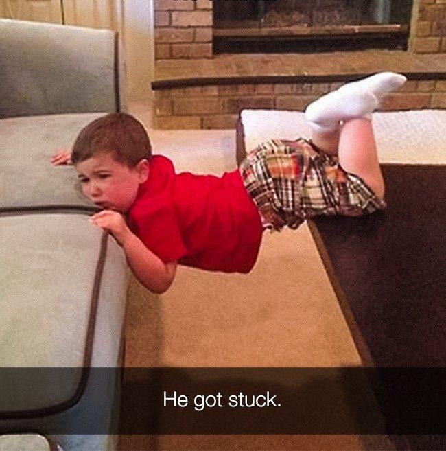 Reasons That Kids Had Major Meltdowns stuck