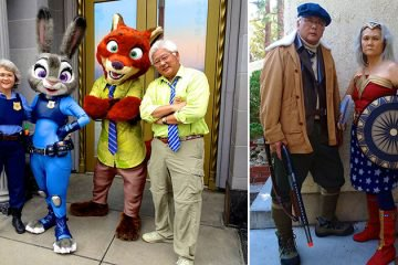 Retired Couple Wins The Internet With Their Cosplay Skills