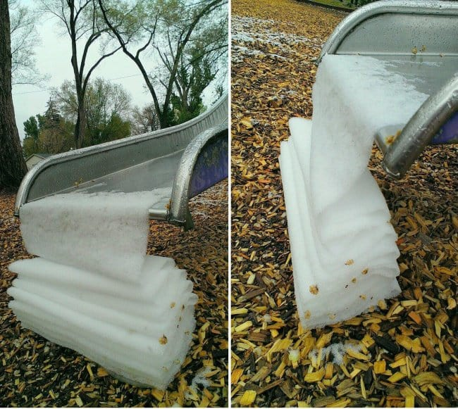 Satisfying Photos frozen slide slush
