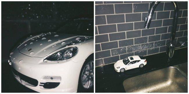 Shouldn't Trust Everything You See car wash porshe