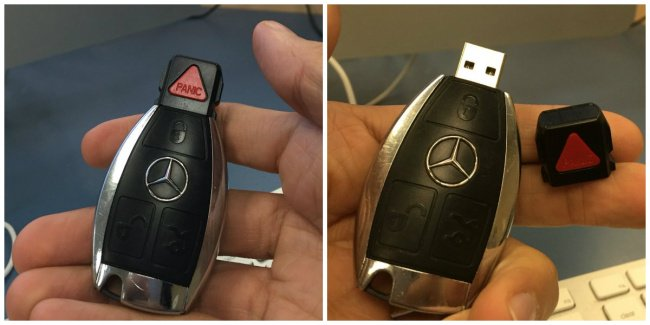 Shouldn't Trust Everything You See mercedes usb stick