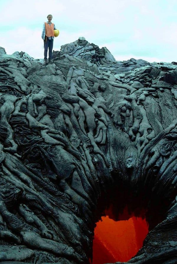 Terrifying Pictures Of Nature lava pit