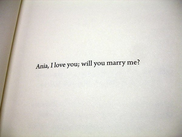 The Best Book Dedications will you marry me