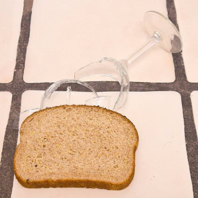 Things That Can Be Done More Easily broken glass bread