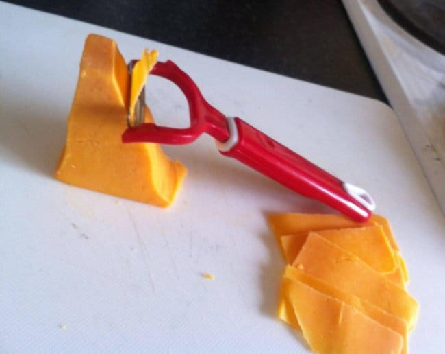 Things That Can Be Done More Easily thin cheese slices
