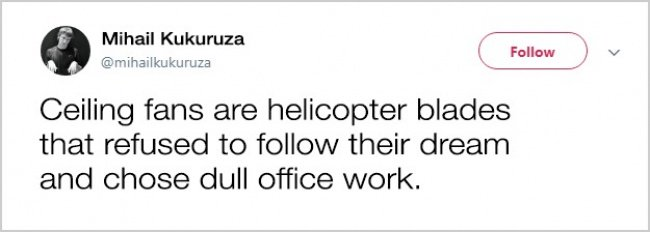 Tweets About Office Life ceiling fans