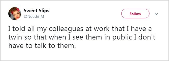 Tweets About Office Life twin