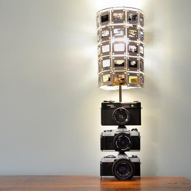 Unexpected Uses For Everyday Items camera lamp