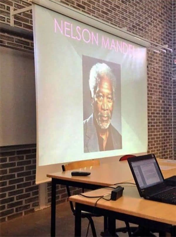 Unforgettable Presentations nelson mandela