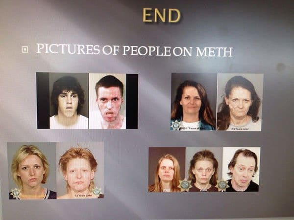Unforgettable Presentations pictures of people on meth