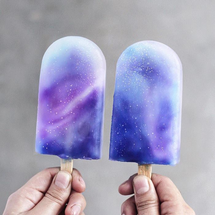 Vegan Breakfasts And Desserts interstellar popsicles