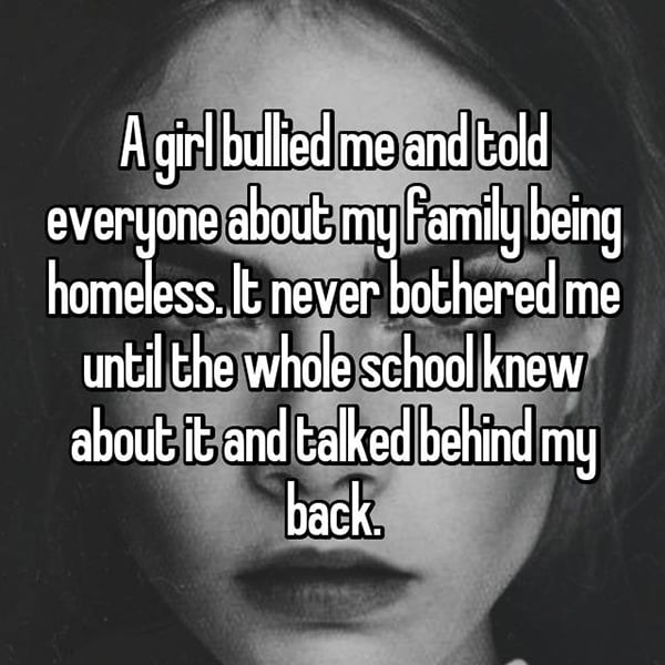 Victims Of Real Life Mean Girls homeless