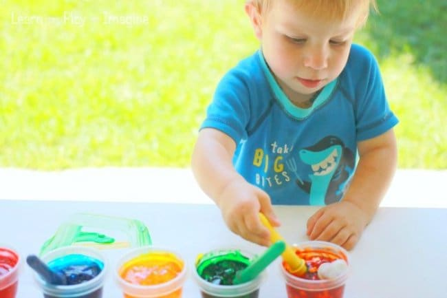 Ways To Keep Your Kids Entertained unusual paints