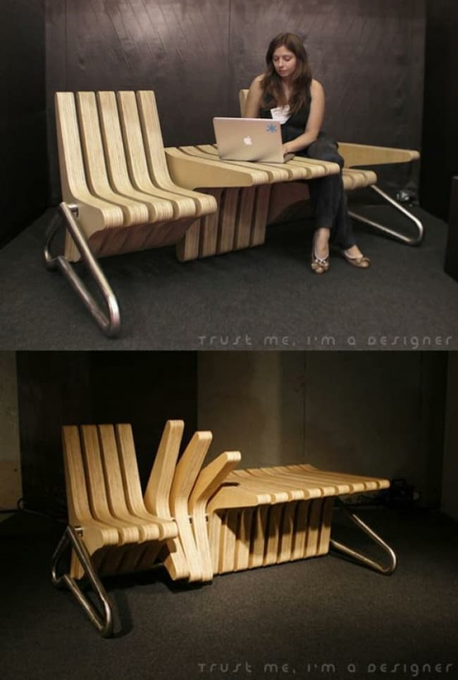 When Designers Actually Cared multifunctional bench