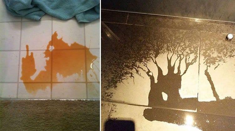 spills that look like something else