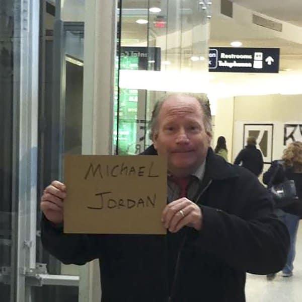 Airport Pick Up Signs michael jordan
