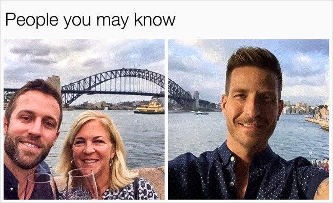 Amazing Coincidences bridges match photos