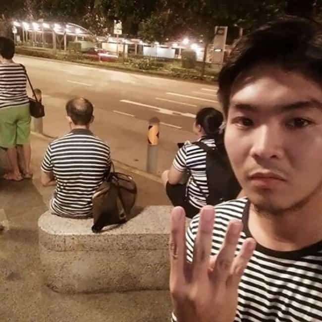 Amazing Coincidences stripy shirts