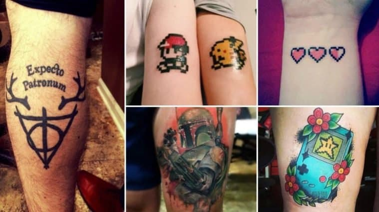 Awesome Geeky Tattoos
