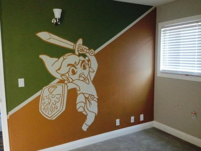 Awesome Husbands wall painting