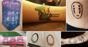 Awesomely Geeky Tattoos