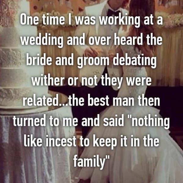 Awkward Wedding Incidents related