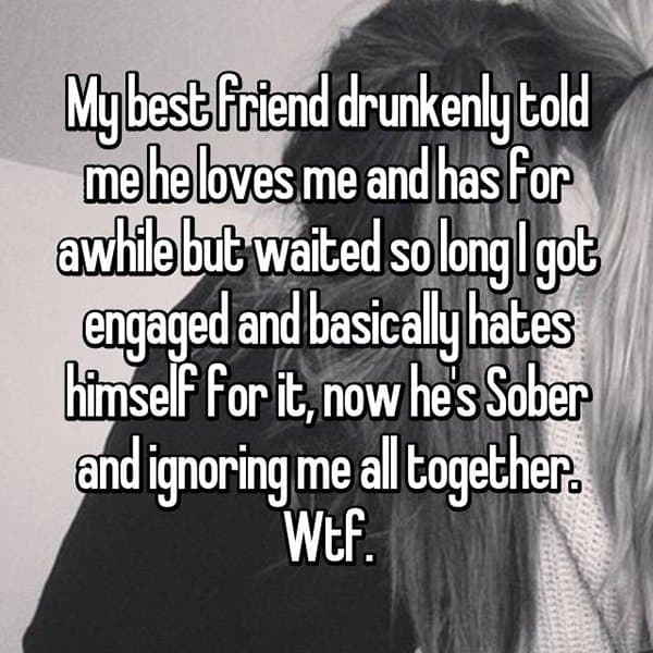 Best Friends Confessed Their Love drunkenly told me