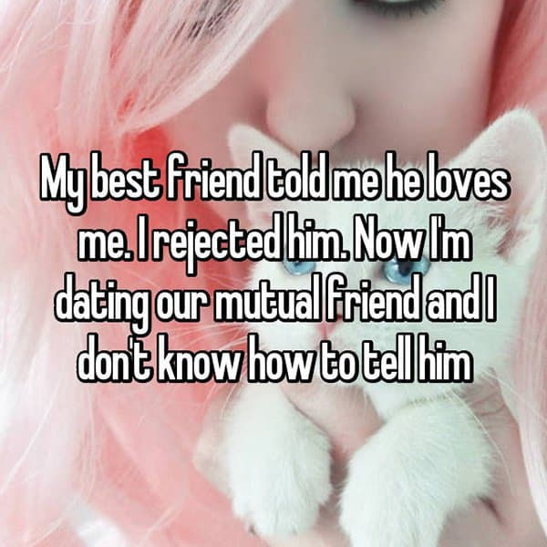 Best Friends Confessed Their Love rejected him