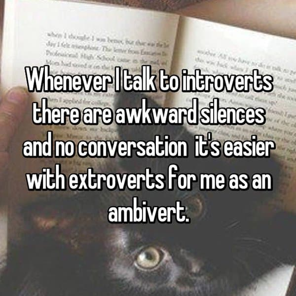 Confessions From Ambiverts its easier