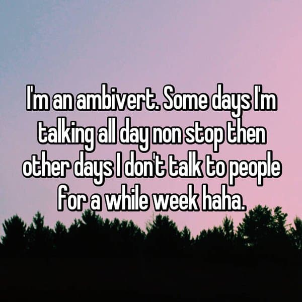 Confessions From Ambiverts non stop