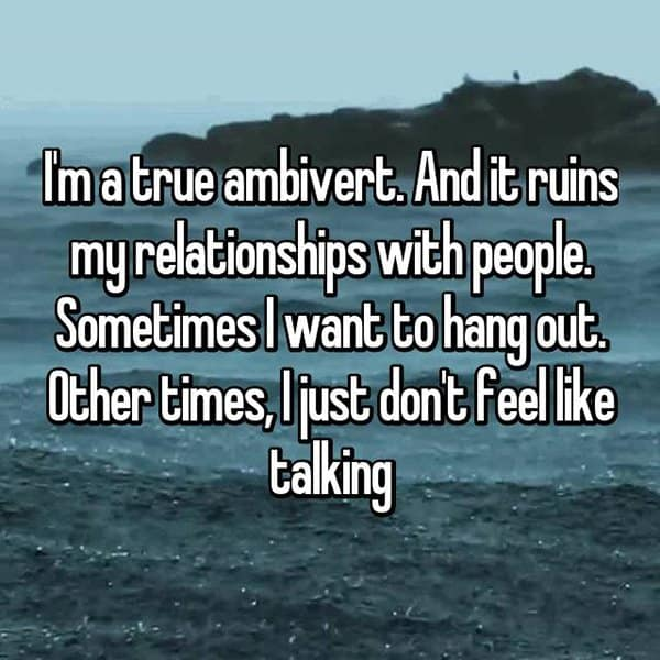 Confessions From Ambiverts ruins relationships