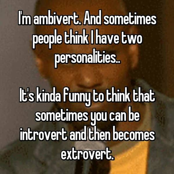 Confessions From Ambiverts two personalities