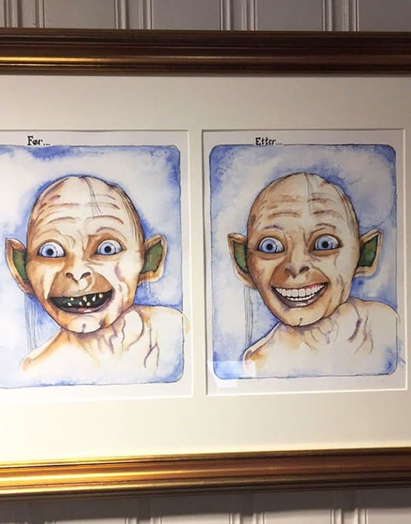 Dentists With An Awesome Sense Of Humor golum