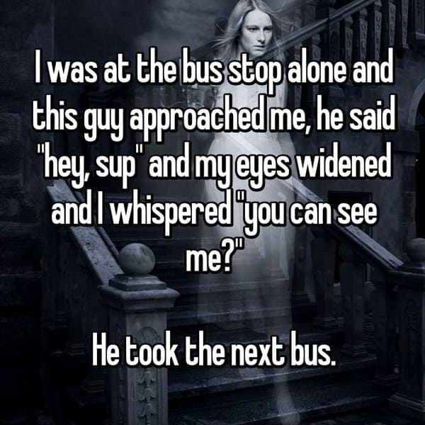 Encounters That Happened At Bus Stops you can see me