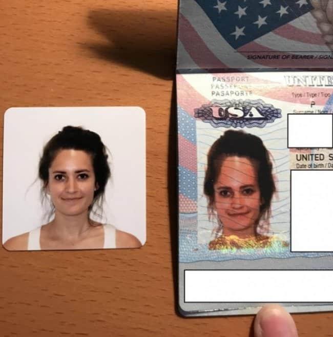 Epic Fails passport photo