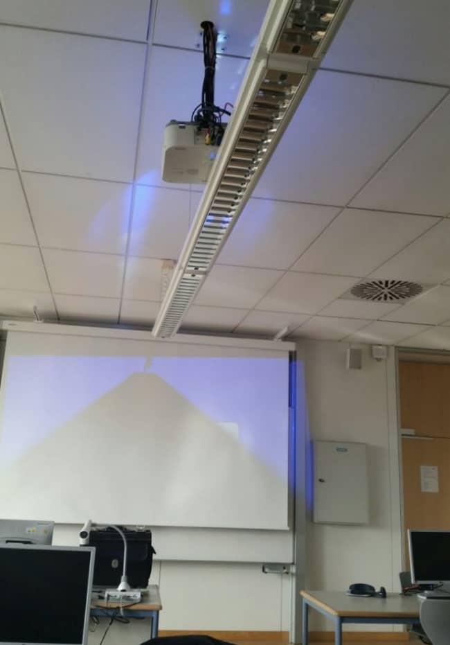 Epic Fails projector