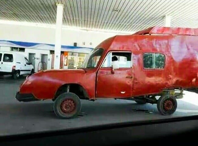 Epic Fails strange car