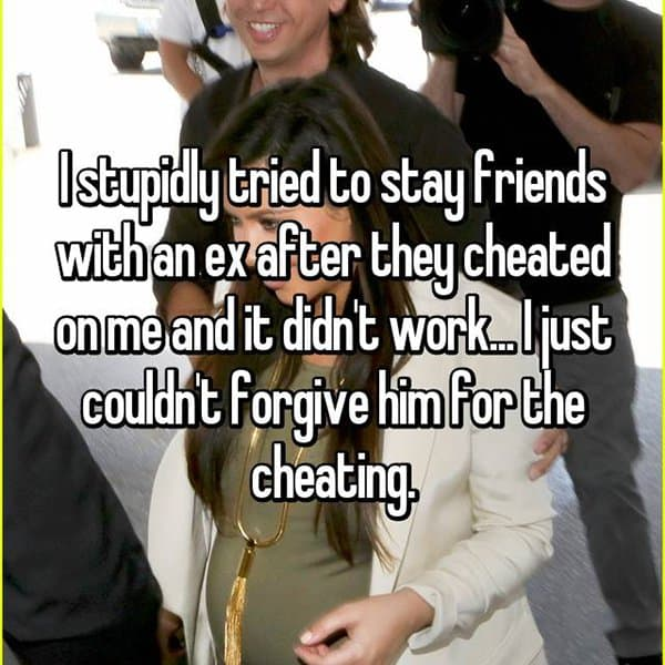 Friends With Their Exes cheating