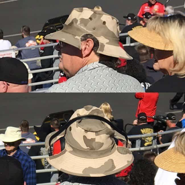 Genius People cut out hat ear defenders