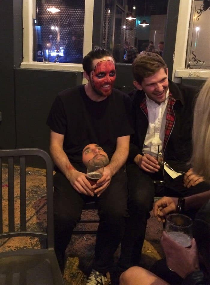 Halloween Costumes 3d printed own face